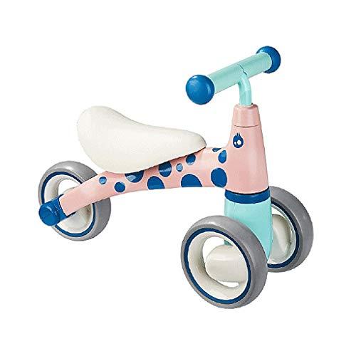 AI CHEN Kids Prams Dreirad für Kinder, Trike Easy Clip und tragbar Geeignet für 1 Jahr alt - 5 Jahre alt Baby Riding   Blue   Yellow   Pink (Welt Die Radfahren Um Rund)