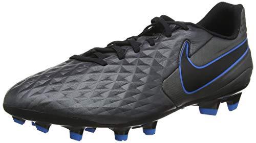 Nike Unisex-Erwachsene Legend 8 Academy FG/MG Fußballschuhe, Schwarz Black-Blue Hero 004, 42.5 EU