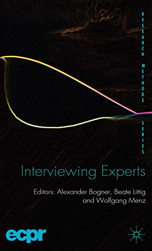 Interviewing Experts (ECPR Research Methods)