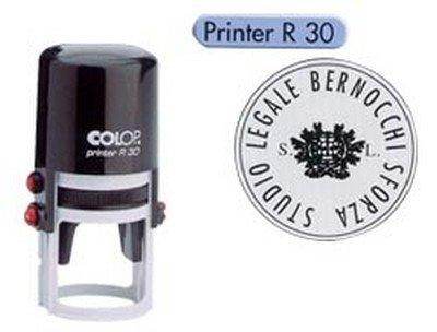 Colop PR.R30 Printer R30 Timbro Autoinchiostrante Rotondo