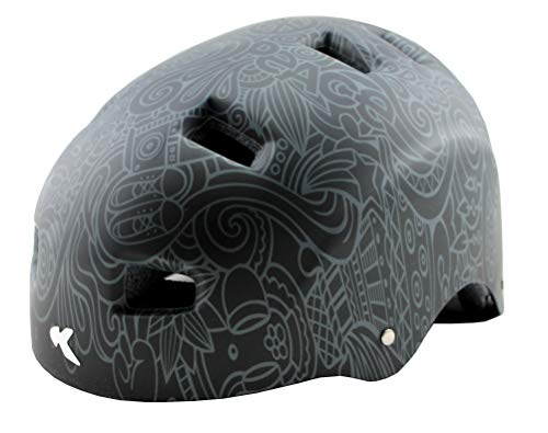 KED Risco Fahrradhelm - (M (Kopfumfang 54-58 cm), Anthracite)