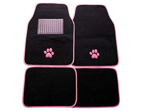 Mountney sum-721Auto Matte Pink mit Hundemotiv, Set 4