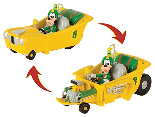 6cc81bd9e44d0 Mickey Mouse- Goofy Transformable, (IMC Toys 184220)