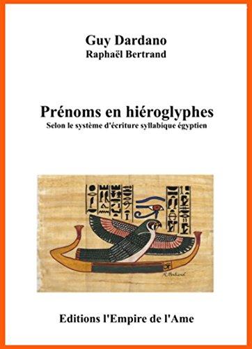 Prénoms en hiéroglyphes A à H