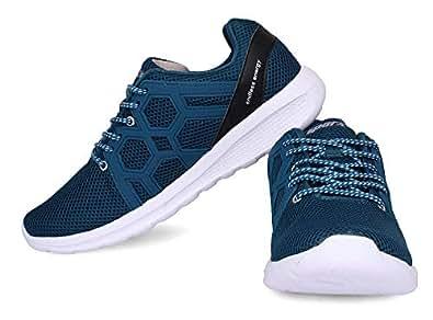 Sparx Men's Trending & Stylish Shoes SX0421 T.Blue Silver UK-10