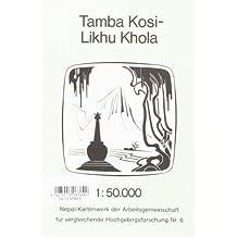 TAMBA KOSI/LIKHU KHOLA - 1/50.000