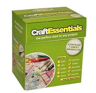 4x u-craft Essentials Klebstoff Roller CLEAR Klebeband Schaumstoff Tape Punkte Velcro® PVA