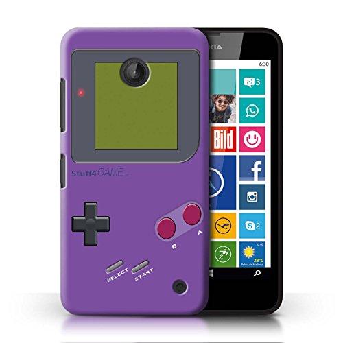 Stuff4® Hülle/Case für Nokia Lumia 635 / Violett Muster/Videogamer/Gameboy Kollektion