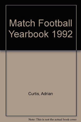 Match Football Yearbook 1992