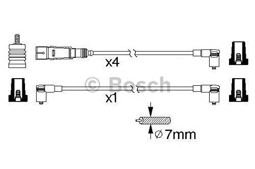 Bosch 0 986 356 343 Kit Cavi accensio