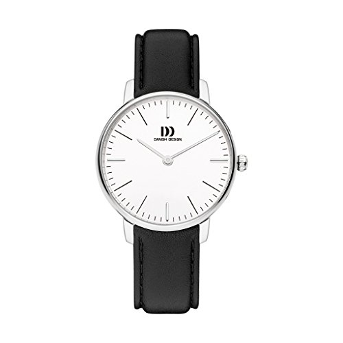 Danish Design Unisex Analogue Quartz Watch with Leather Strap IV10Q1175