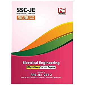 SSC (RRB-JE) : Electrical Engineering Objective Solved Papers