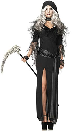 MTSBW Halloween-Friedhof Ghost Skeleton Kostüm Lady Horror Im Freien