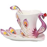 smkf collezione Belle Arti Cina Porcellana Tazza e piattino per