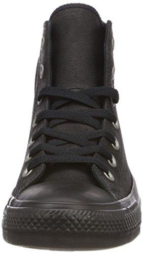 Converse Unisex-Erwachsene CTAS Hi Hohe Sneaker Schwarz (Black/Black/Black)