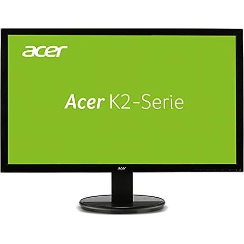 Acer K222HQL - Monitor LED 21.5'' (1080p, 5ms, HDMI, VGA y DVI,  fuente alimentación integrada, soporte VESA),