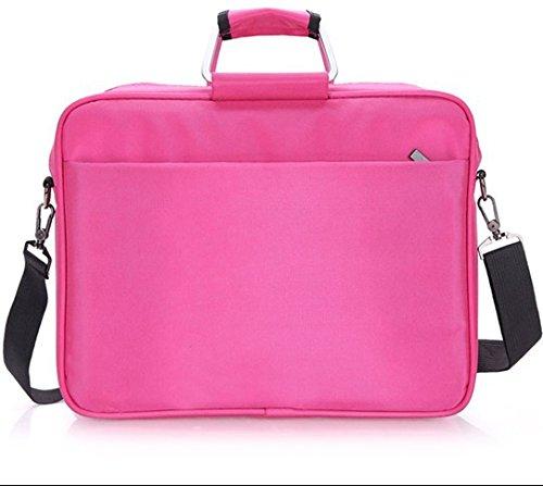 Z&HXLaptop-Tasche Laptop-Tasche und weise beil?ufige wasserdichte Multifunktions Pink