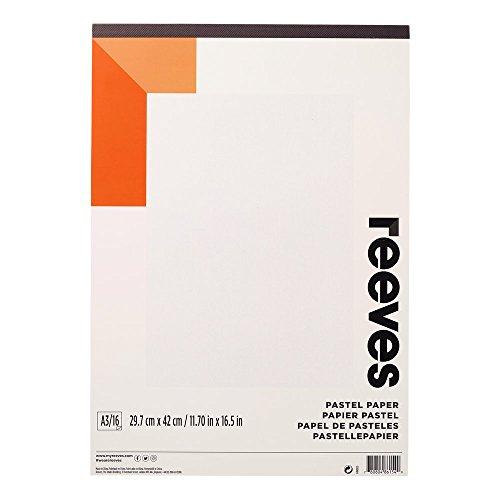 Reeves 8490955 Pastellblock - Pastellpapier - 16 Blatt 180g/m², hochwertiges Papier,...