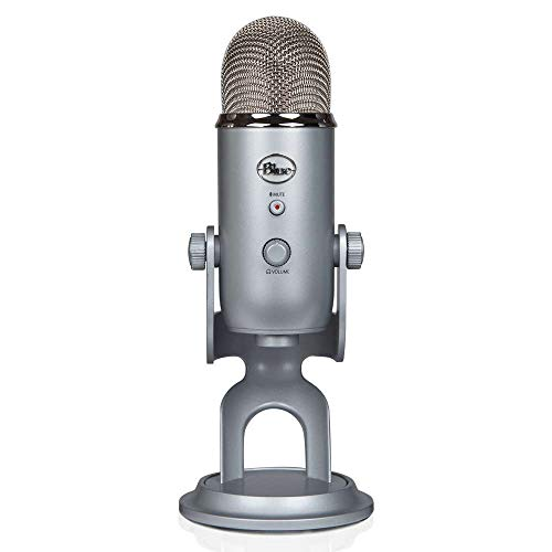 Blue Microphones USB Yeti Argent Silver Edition