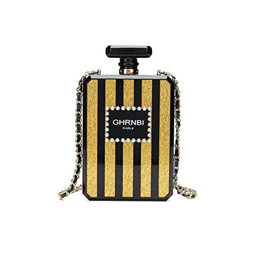 AIYA Parfum - Flaschen - Paket aus der Hand Mode Kleine Pilze Essen Schulter Messenger Tasche Paket. -