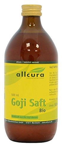 Goji Saft Bio, 500 ml - Goji-beeren-saft