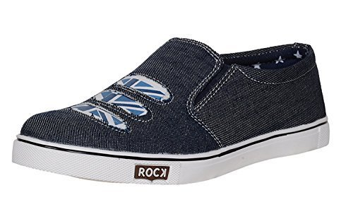 Shoes T99 Men's Denim Loafers & Moccasins shoe (6, blue)  available at amazon for Rs.149