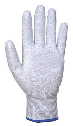 Antistatik PU-Handflächen Handschuh Grey XXL grau
