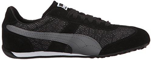 Puma 76 Runner Tier Sneaker Black/Steel Gray
