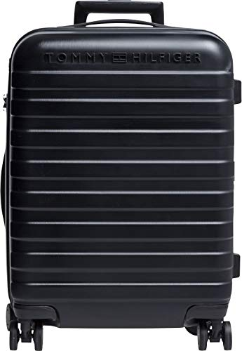 Tommy Hilfiger Tommy Lux 35L Valigia trolley 4 ruote nero