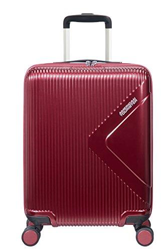American Tourister Modern Dream Spinner Bagaglio a mano, 55 cm, 35 L, Rosso (Wine Red)