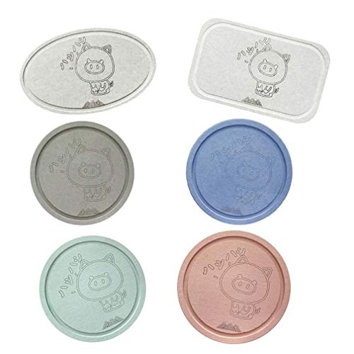 Diatomaceous Earth Coaster, Diatomaceous Earth Soap Mat, Feuchtigkeits-Proof Mehltau Deodorant Tea Coaster, Wasserabsorption antibakterielle Antibakterielle,01
