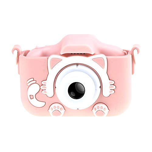 TARTIERY Camara De Fotos para Niños LCD De La Pantalla Camara Digital Infantil Niña Regalos Cámara Digital Selfie para Niños Prueba De Golpes para Niños Niñas Regalo De Cumpleaños Navidad -