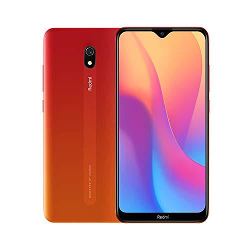 """Xiaomi Redmi 8A Smartphone, 2GB 32GB Mobilephone, 6,22"""" Pantalla Snapdargon 439 Octa Core Teléfono Móvil 5000mAh 12MP AI Tipo Cámara Trasera 8MP Cámara Frontal,Versión Global (Rojo)"""