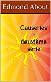Causeries - deuxième série