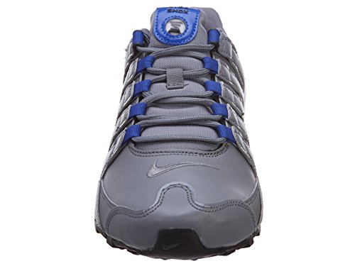 Nike Shox NZ Sneaker Herren Cool Grey/Mtllc Silver-gym Royal