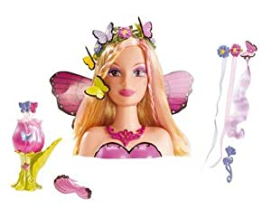 mattel l8597 poup e barbie tete a coiffer mariposa jeux et jouets. Black Bedroom Furniture Sets. Home Design Ideas