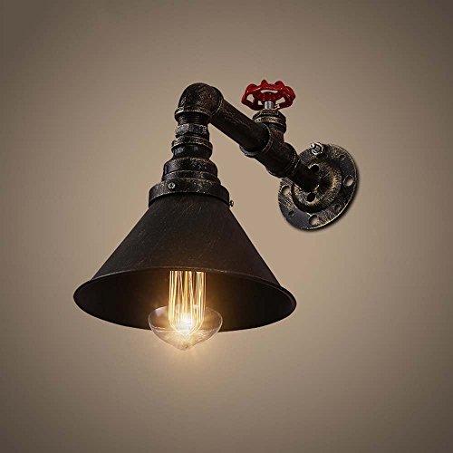 Lámpara de pared-americano retro aldea creativa individualidad Industrial Tubo de agua rejas Lámpara de Pared Restaurante Cafetería Lámpara de Pared --La iluminación de pared decoraciones