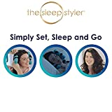 FLIPXEN The Heat-free Night Time Hair Curlers for Long, Thick or Curly Hair (Large, 6-inch Rollers) - 8 Count