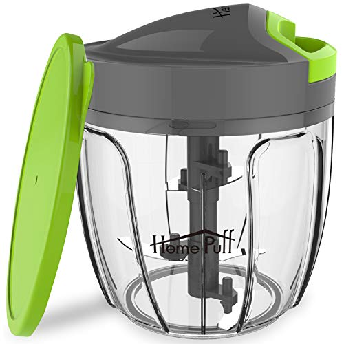 Home Puff H14 0.9-Liter Chopper with Storage Lid (Green)