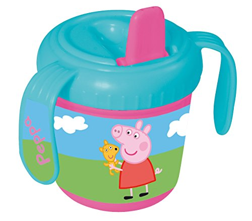 Peppa Pig 785285 - Nippbecher, 8 cm (Pig Nick Peppa Jr)