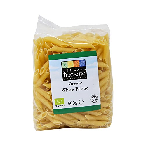 Fresh & Wild Organic White Penne Pasta, 500 g