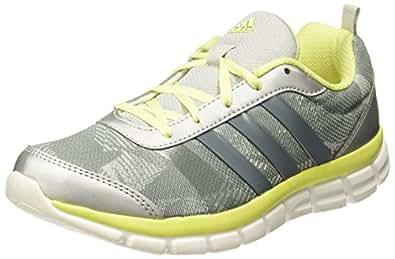 adidas Women's Avitori W Silver, Grey and Yellow Multisport Training Shoes - 4 UK