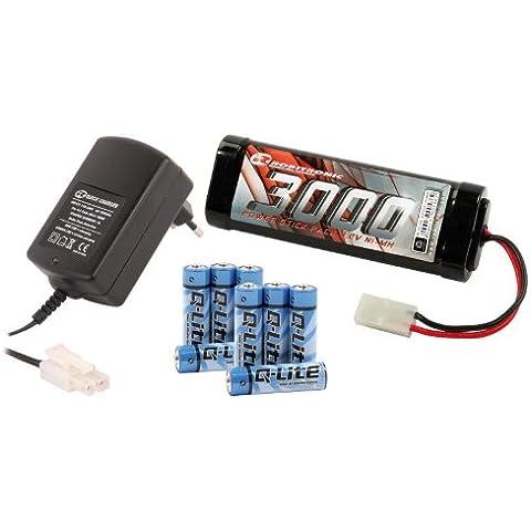 Eléctrico Kit De Inicio (Cargador de pico de, Stickpack, Batería del transmisor)