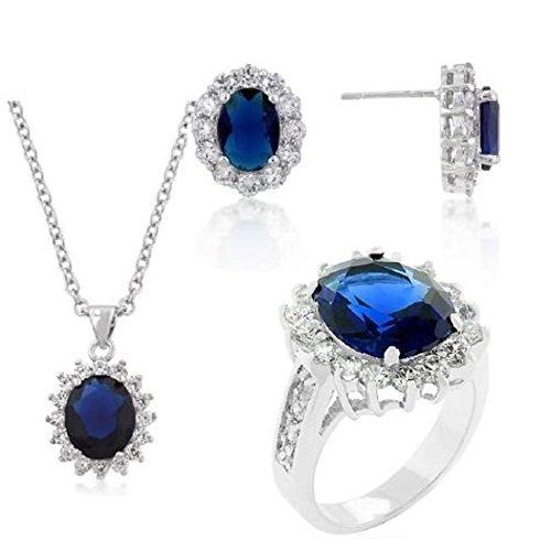 Bracelet Oxyde de zirconium bleu ISADY Victoria Saphir
