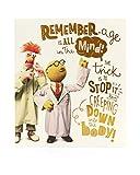 Hanson weiß 602455–0Disney Muppets Geburtstagskarte