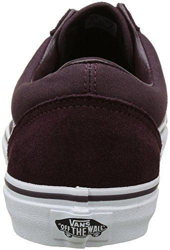 Vans Damen Old Skool Sneakers Braun (Suede/Canvas) Iron Brown/true white)