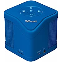 Trust Urban Muzo - Altavoz inalámbrico con bluetooth, color azul