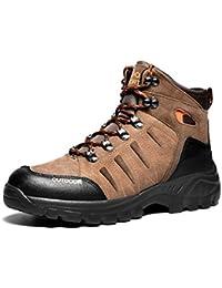 Scarpe da Trekking da Uomo Scarpe da Arrampicata Invernali da Pelliccia per  Uomo Scarpe da Trekking 2515c773af8