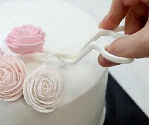 ere FüR Creme BlumenüBertragung Werkzeug Kuchen Dekorieren Blume Fach KüChe Backen Modellierung Werkzeug ()