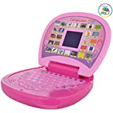Jannat Educational Laptop with Led Screen, for Children (Multi Color) ( Battery Not Included ).